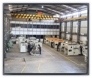 Diecutting Machinery Machinery Manufacturing Facility